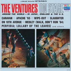 Ventures - On Stage CD Cover Art