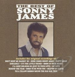 James, Sonny - Best of Sonny James CD Cover Art