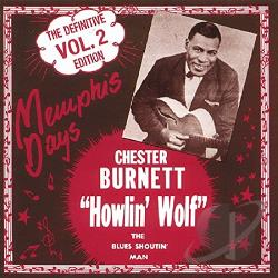 Howlin' Wolf - Memphis Days: Definitive Edition, Vol. 2 CD Cover Art