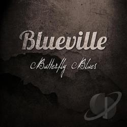 Blueville - Butterfly Blues CD Cover Art
