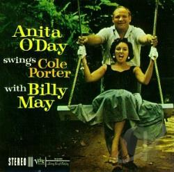 O'Day, Anita - Anita O'Day Swings Cole Porter with Billy May CD Cover Art