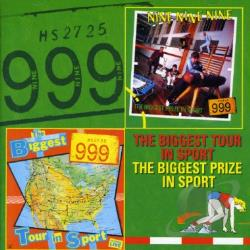 999 - Biggest Tour In Sport/The Biggest Prize in Sport CD Cover Art