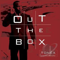 Tonex - Out the Box CD Cover Art