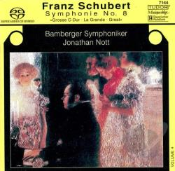 Schubert, F. - Schubert: Symphony No 9, D 944 / Nott, Bamberg So SA Cover Art