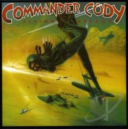 Commander Cody & His Lost Planet Airmen - Flying Dreams CD Cover Art