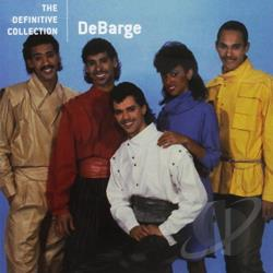 DeBarge - Definitive Collection CD Cover Art