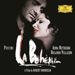 De Billy / Netrebko / Puccini / Villazon - La Boheme CD Cover Art