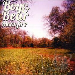 Boy & Bear - Moonfire CD Cover Art