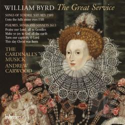 Byrd / Carwood / Cardinall's Musick - Byrd: The Great Service CD Cover Art