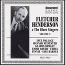 Henderson, Fletcher - Fletcher Henderson with the Blues Singers, Vol. 2 (1923 - 1924) CD Cover Art
