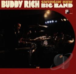Rich, Buddy - Swingin' New Big Band CD Cover Art