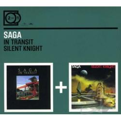 Saga - In Transit/Silent Knight CD Cover Art