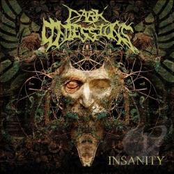 Dark Confessions - Insanity CD Cover Art