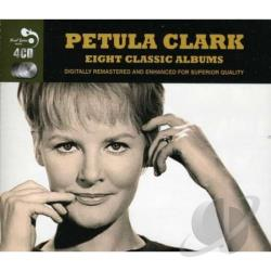 Clark, Petula - Eight Classic Albums CD Cover Art