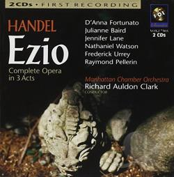 Handel, G.F. - Handel: Ezio CD Cover Art