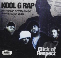 Kool G. Rap - Click Of Respect CD Cover Art