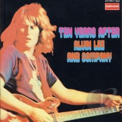 Ten Years After - Alvin Lee & Company CD Cover Art
