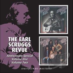 Earl Scruggs Revue / Scruggs, Earl - Anniversary CD Cover Art