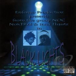 NokTRnl & Inna Thautz - Black Lights CD Cover Art
