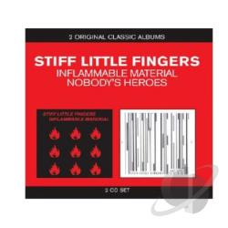 Stiff Little Fingers - Classic Albums - Inflammable Material/Nobody's Heroes CD Cover Art