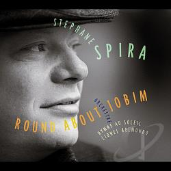 Spira, Stephane - Round About Jobim CD Cover Art