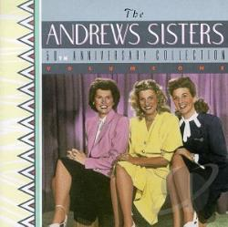 Andrews Sisters - 50th Anniversary Collection CD Cover Art