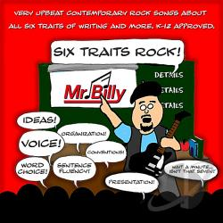 Mr. Billy - Six Traits Rock CD Cover Art