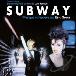 Serra, Eric - Subway CD Cover Art