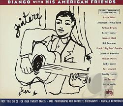 Reinhardt, Django - With His American Friends CD Cover Art