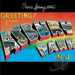 Springsteen, Bruce - Greetings from Asbury Park, N.J. CD Cover Art