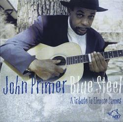 Primer, John - Blue Steel: A Tribute to Elmore James CD Cover Art