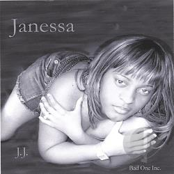 Janessa - Hot Gal CD Cover Art