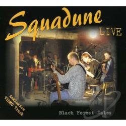 Squadune - Black Forest Tales: Live CD Cover Art