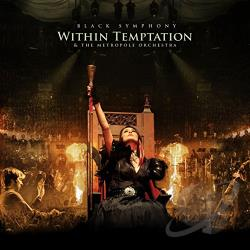 Metropole Orchestra / Within Temptation - Black Symphony CD Cover Art