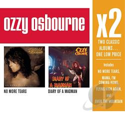 Osbourne, Ozzy - No More Tears/Diary of a Madman CD Cover Art