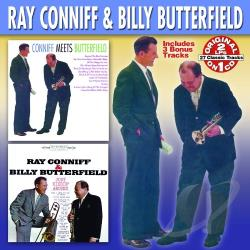 Butterfield, Billy / Conniff, Ray - Conniff Meets Butterfield/Just Kiddin' Around CD Cover Art