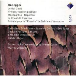 Constant / Honegger / Monte Carlo Phil Orch - Honegger: Le Roi David; Monopartita CD Cover Art