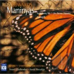 Edwards, R. - Maninyas-Symphony N CD Cover Art