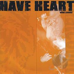 Have Heart - What Counts CD Cover Art