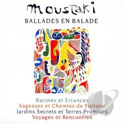 Moustaki, Georges - Ballades En Balade CD Cover Art