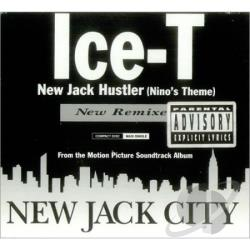 Ice-T - New Jack Hustler CD Cover Art