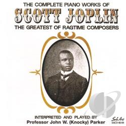 Parker, Knocky - Complete Piano Works of Scott Joplin CD Cover Art