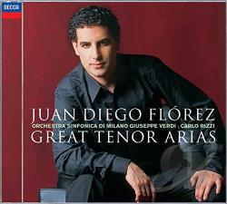 Florez, Juan Diego / Osmv / Rizzi - Great Tenor Arias CD Cover Art