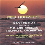 Kenton, Stan - New Horizons, Vol.1 CD Cover Art