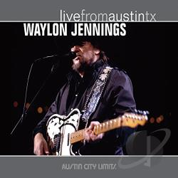 Jennings, Waylon - Live from Austin TX CD Cover Art