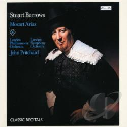 Burrows / Lpo / Mozart / Pritchard - Mozart Arias CD Cover Art