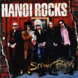 Hanoi Rocks - Street Poetry CD Cover Art