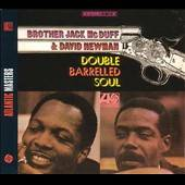 McDuff, Jack / Newman, David Fathead - Double Barrelled Soul LP Cover Art