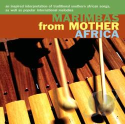 Marimbas from Mother Africa CD Cover Art