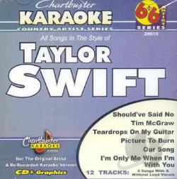 Swift, Taylor - Karaoke: Taylor Swift CD Cover Art
